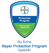 Bu firma Bayer Protection Program üyesidir.
