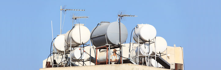 How Does A Water Tank Become So Dirty?