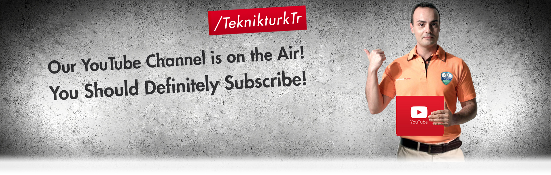 Our YouTube Channel is the on Air! You should definitely subscribe!